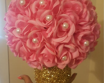 Royal Theme baby shower centerpieces