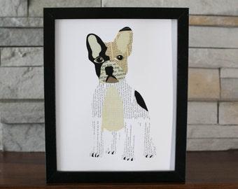 French Bull Dog Puppy Print