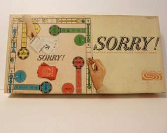 Sorry Board Game, Circa 1964, by: Parker Brothers
