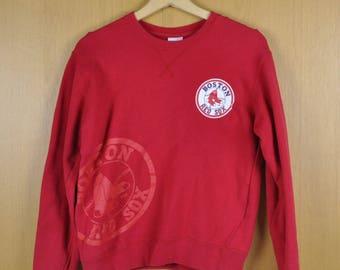 Vintage Major League Baseball Boston Red Sport Wear Men Women Clothing Nice Sweatshirt