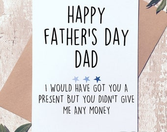 Father's day card, Card for dad, funny dad card, card for men, funny fathers day card