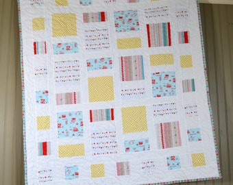 Quilt, Baby Quilt, Baby Bedding, Handmade Quilt, Baby Blanket, Nursery Quilt, Crib Bedding, Baby Shower Gift, Nursery Bedding