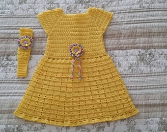 Sunny Yellow Party Dress