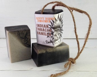 Tobacco Soap-On-A-Rope, Manly Soap, Soap Men Love, Indian Tobacco Soap, Gifts For Dad, Gifts For Hubby, Funny Gifts, Funny Stocking Stuffer