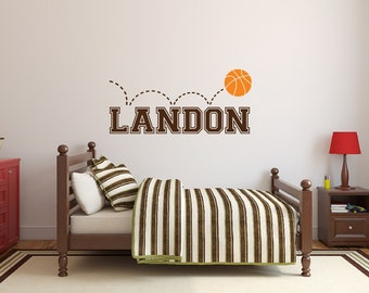 Sports Wall Decor Etsy - Sporting wall decals