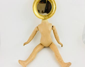 You're A Doll! Assemblage with Mirror
