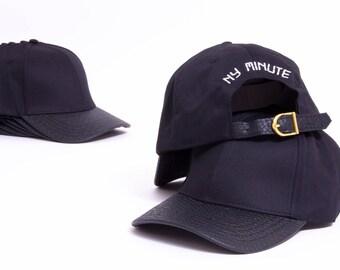 NYM snakeskin leather dad hat
