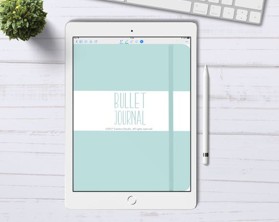 bullet journal numérique