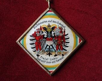 Alsatian/German carnival badge