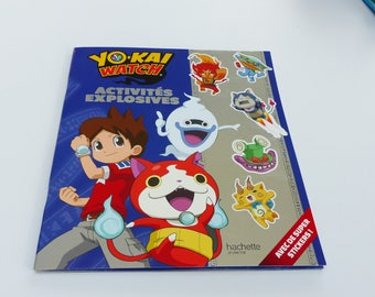 Yo - Kai Watch book explosive activities with great stickers