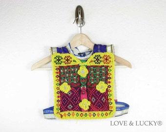 ON SALE Kutchi Tribal Patch / Afghan Dress Patch / ku-vest-patch-24