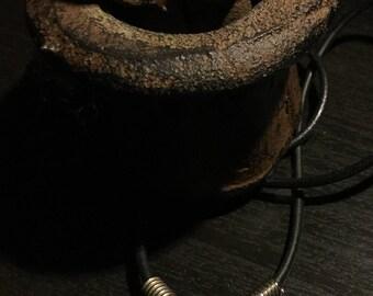 Steampunk Silver Bug Necklace
