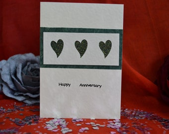 Handmade Happy Anniversary Card