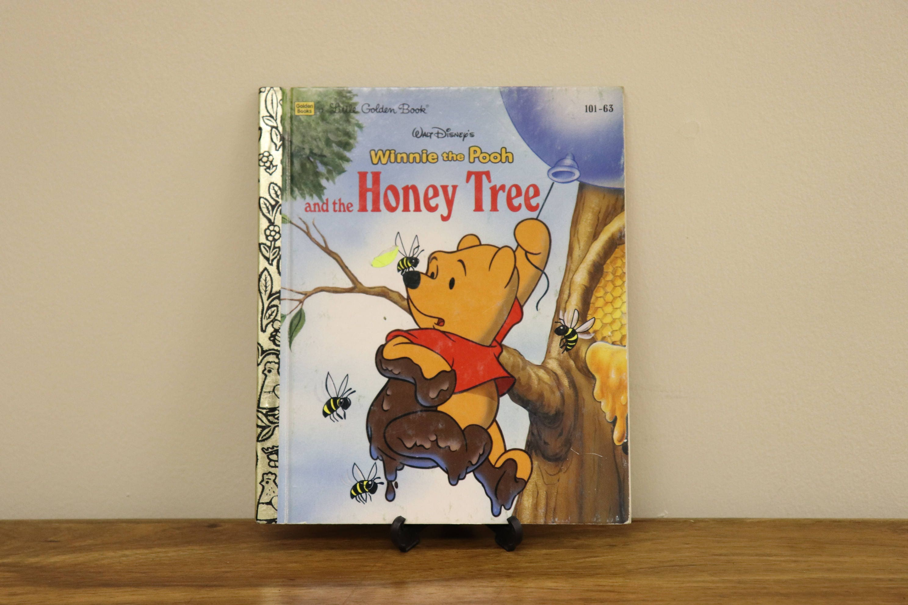 Vintage 1994 Little Golden Book Winnie the Pooh and the