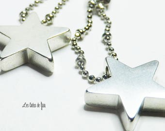 Earrings Star system • silver • chic • minimalist classic jewelry
