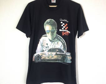 1992 Darrell Waltrip #17 vintage t-shirt // NASCAR tee
