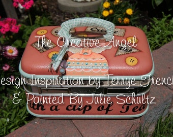 The Creative Angel, email pattern packet, by Julie Schultz