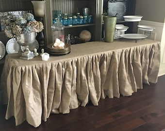 Marvelous Burlap Tablecloth Wedding Burlap Tablecloth   Round, Rectangle, Or Square    SELECT A SIZE