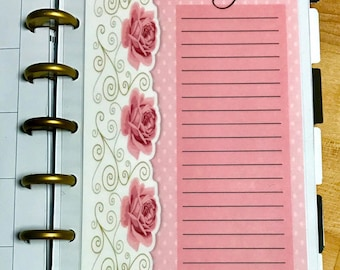 """DASHBOARD """"Prayers"""" for use with MINI Happy Planner"""
