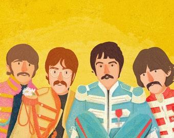 Beatles - A4