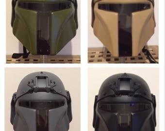Mandalorian airsoft/paintball helmet