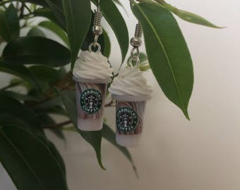 Starbucks Coffee Earrings