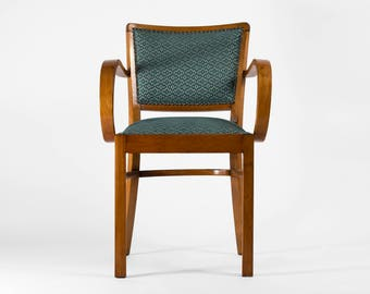 Art Deco armchair from 1930's (fully restored)