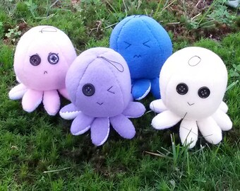 Plush Octoplus (Octoplushies)