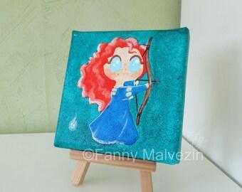 Merida (Brave) - Mini painting