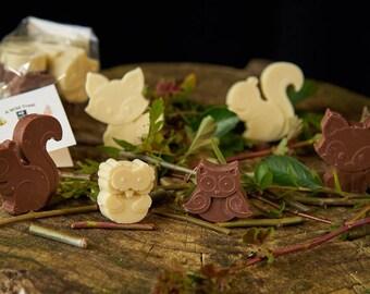 A Wild Treat Woodland Chocolate Wildlife Bag