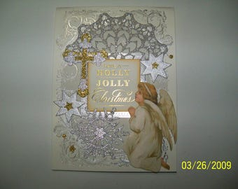 Set of two pop up Christmas cards