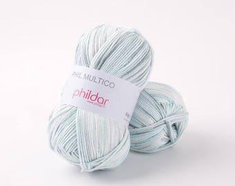 cotton thread PHIL ice color phildar Multico