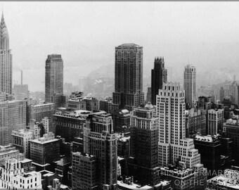 Poster, Many Sizes Available; Manhattan, New York City, From Rockefeller Center, 1932