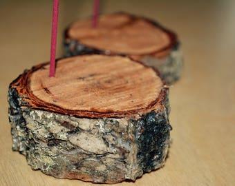 Incense Holder//Natural Incense Burner//Sealed Wood Incense Holder//Meditation Space Incense Burner//Yoga Space Artwork