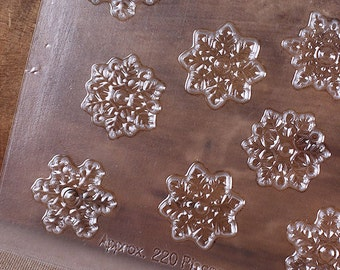 Snowflake Chocolate Molds, Snowflake Candy Molds, Small Snowflake Chocolate Candy Molds, Frozen Candy Molds, Christmas Candy Molds