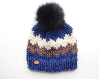 The Westney Hat in Mountain / Ready to Ship / Woman's Knit Hat