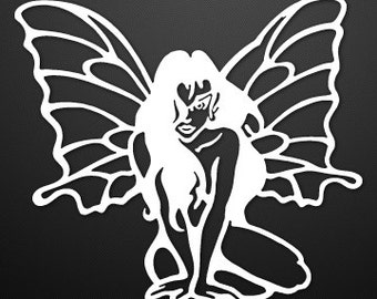 Pixie Fairy custom vinyl Decal/Sticker