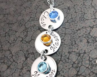 Mother's Day Gift for Mom Mother's Necklace Personalized Mother's Jewelry