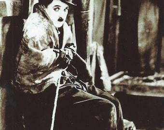 Charlie Chaplin 4x6 Postcard