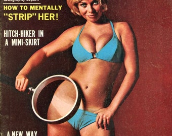 Wildcat Magazine from 1970  Packed with Sexy Gorgeous Women  A new way of doing it !   Get Wild Man   mature