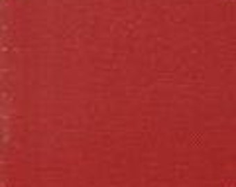 Ruby Kona Cotton Solid 25cm