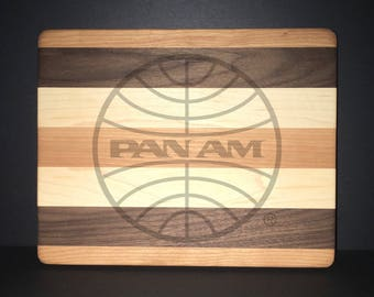 10 X 8 inch Pan American Airways Bread/Cheese Board