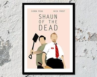 Shaun of the Dead high quality film print (A5, A4, A3)