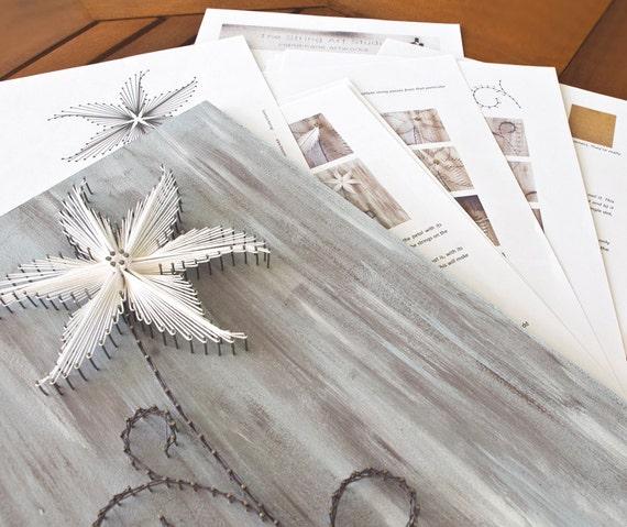 string art pattern instructions the lily diy. Black Bedroom Furniture Sets. Home Design Ideas