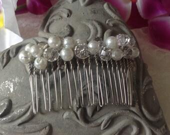 Comb transparent beads