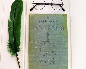 Potions A5 Magical Notebook - Witches & Wizards - Back to School Gifts - Geek Gift - Notepad Jotter