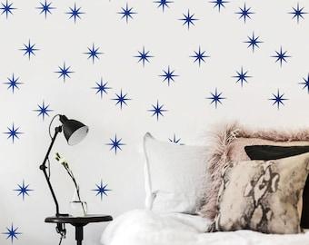 Coronata Stars Star Wall Decal / Coronata Star stickers / Gold stars decal / 36 Stars / Kids Room Decal / Nursery decal / Home Decor