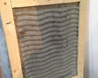 Vintage Laundry washboard in good condition. Collectables/country cottage/curio's/laundry accessories/display item for home or business.