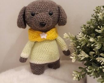 Small dog crochet - Amigurumi