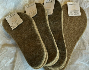 100% Alpaca Insoles, Boot Liners